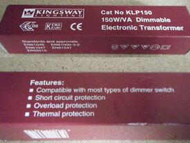 NEW Dimmable transformer 150W/VA