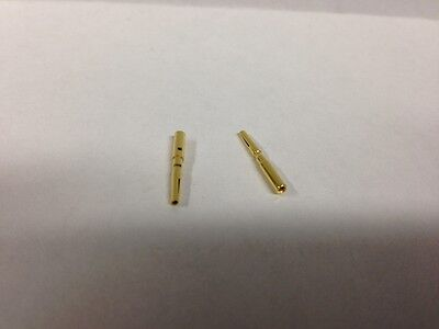 Lot Of 10 Amphenol Wirepro Wpi 17-763-2 Nos D-subminiature Female Contact Pins
