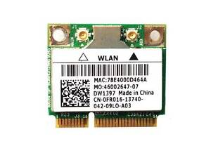 Dell Studio 1555 Wireless Half Card MiniCard BCM94312HMG DW1397 FR016 (K28-10)