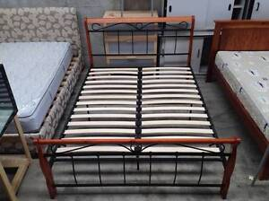 Double Bed with Free Mattress in great condition Maddington Gosnells Area Preview