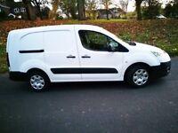 NO VAT 2014 '14' Peugeot Partner 1.6 HDI 5 Seater Crew Cab with ISA Fix Van very clean van