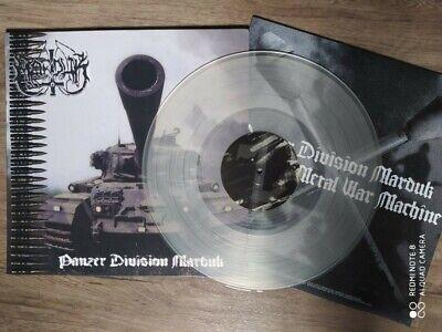 Marduk panzer division vinyle LP clear