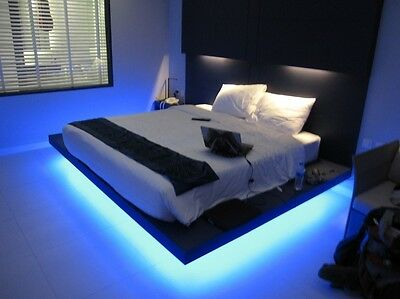 Remote Controlled Colour Changing LED Strip Light Sets Bed/Lounge/Conservatory