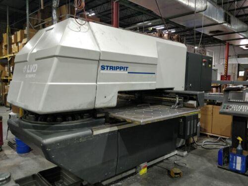 Strippit 1000 XP 20 Upgraded CNC Turret Punch Press w/ Auto Index