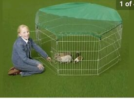 VivaPet Outdoor Octagon secure Animal Cage/pen