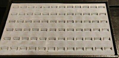 Jewelry Ring Display Tray Box 14.75 X 8.5 X 1