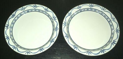 "(2) Dansk NORWEGIAN BLUE 8 3/4"" Salad Plates   ******"