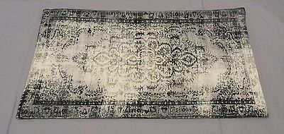 West Elm Slate Velvet Arabesque Pillow Cover 12X21