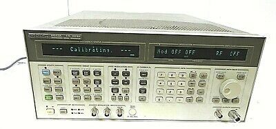 Hp 8643a 0.26-1030 Mhz Synthesized Signal Generator - Free Shipping