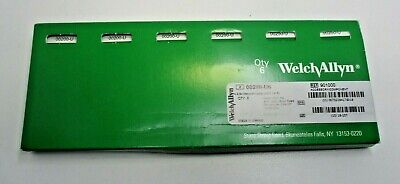 Welch Allyn 00200-u6 2.5v Vacuum Lamp Replacement Bulbs Box Of 6 New