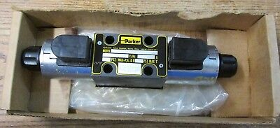 Unused Nos Parker D1vw002cnkw Hydraulic Directional Control Valve 12vdc 5000psi