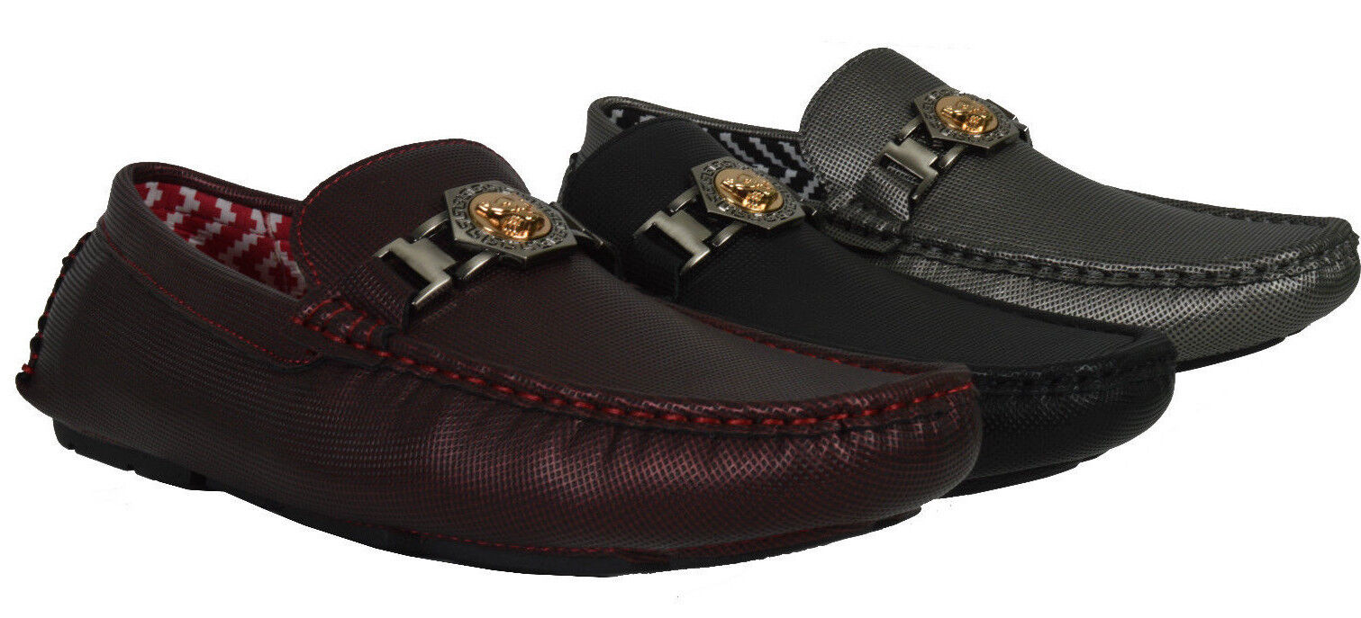 Men/'s Giovanni Casual Shoe Driving Moccasin Wedding Formal Slip On Dress M788-29