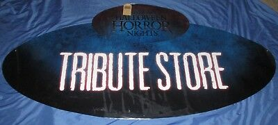 HALLOWEEN HORROR NIGHTS 27 Universal Studios Theme Park Prop Sign 2017 ~TRIBUTE