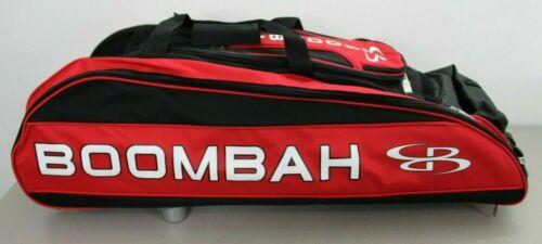 Boombah Baseball Softball Beast Bag 2.0 Red Black Rolling MISSING FRONT FLAP