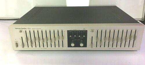 Vintage Harmon Kardon EQ 8 Stereo Equalizer  Clean  Seller Serviced