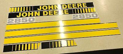 John Deere 2850 Hood Decals