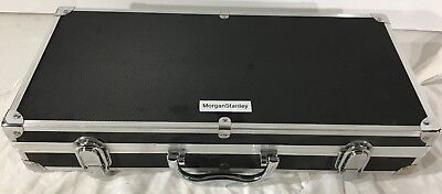 Morgan Stanley Stainless Steel BBQ Grill Tools 12 Piece Set With Carrying Case