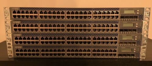Juniper Networks EX3300-48T Gigabit Switch With 10gb SPF Ports WITH Rack Ears