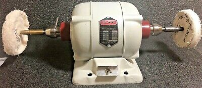 Handler Redwing 26a Dental Polishing Lathe 14 Hp Dual Chuck Attachments 115v