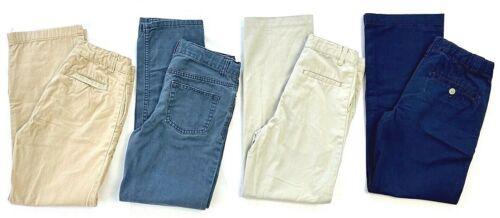 Lot of 4 Boys Uniform Pants sz12 Khaki & Navy ChildsPlace/George/Cherokee EUC!