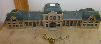Vollmer N Gauge Railway Station Baden Baden 2-fold Illuminated for sale  Shipping to United States
