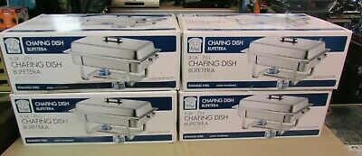 4 Bakers Chefs Chafing Dish Bufetera 8 Quart 7.5l Stainless Steel