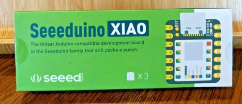 3pk Seeeduino XIAO The Smallest Arduino Microcontroller Based SAMD21 NEW SEALED!