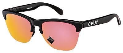 Oakley Frogskins Lite Sunglasses OO9374-2663 Matte Black | Prizm Rose Gold Lens