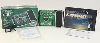 Zoom A2.1u Acoustic Guitar Multi-Effects Pedal/USB Interface - w/Original Box