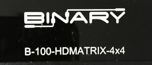 Binary B100-HDMATRIX 4x4