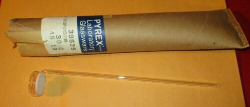 Pyrex Gas Dispersion Tube,Fritted Disc,39525-30 C,30mm Dia.,6mm tube,Glass,Lab