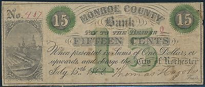 15  Monroe County Bank City Of Rochester No  407 Br9437
