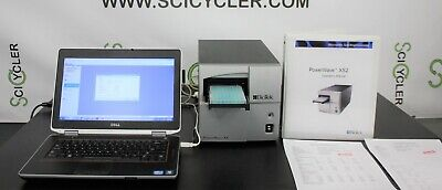 Turn-key Biotek Powerwave Xs Absorbance Microplate Reader W Laptop Warranty