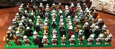 LEGO Star Wars Random Lot of x2 Minifigures Clone Trooper Droid READ DESCRIPTION