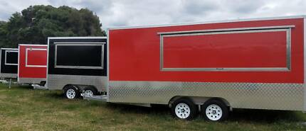 New Mobile Food Vans - 3m, 4m and 5m starting from $15,900 Penrith Penrith Area Preview
