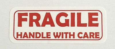 Fragile-handle Wcare Labels - 1 X 2 58 - 1200 Total 30 Per Sheet