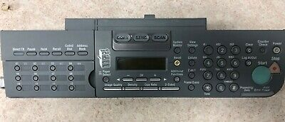 CONTROL PANEL ASSEMBLY IR 1025 IF  (000 Control Panel Assembly)