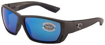 Costa Del Mar Tuna Alley Sunglasses TA-188-OBMGLP Steel 580G Blue Polarized (Costa Sunglasses Tuna Alley)