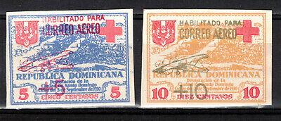 DOMINICAN REPUBLIC Scott RAC6-7 Mint Never Hinged ## 1 cent start ##