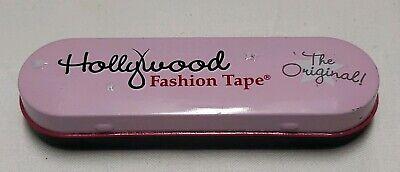 Hollywood Fashion Secrets Clothing Fashion Tape 36 Count Tin. Open box no pkg.