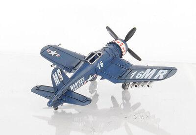 Chance Vought F4U Corsair Metal Desk Model 13