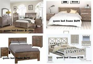 SALE - UP TO 50% OFF modern bedroom ( BED ) ezi-pay from $7p/w Bundall Gold Coast City Preview
