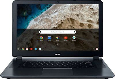"NEW Acer 15 15.6"" Chromebook Intel Celeron N3060/4GB/16GB eMMC Granite Gray"