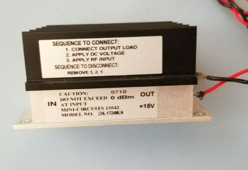 minicircuits RF amplifier ZHL-1724MLN - tested
