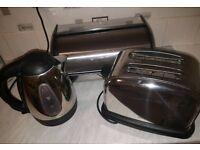 Kettle toaster bread bin