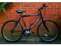 "Townsend atlantis mans bike,26""wheels,18 speed"