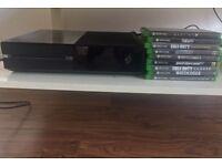 Xbox One & 9 Games! Cheap deal.