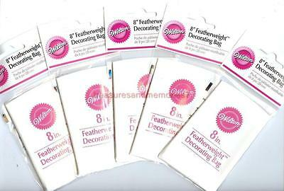 Wilton Premium 5 Featherweight 8 Decorating Bags - Cheapest Price On Ebay