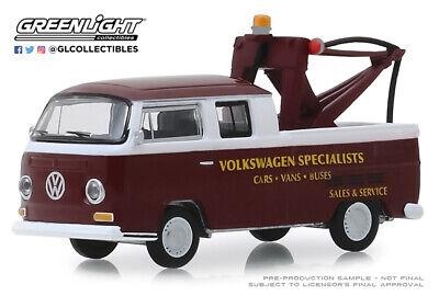 Greenlight Hobby 1:64 OVP Vintage Surfboards VW T2 Crew Cab Double Cab  DoKa