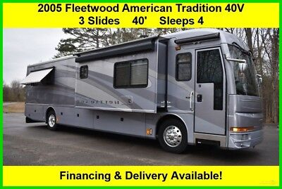 2005 Fleetwood RV American Tradition Used Diesel Pusher Motor Home Coach MH